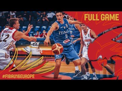 Russia v Italy - Full Game - FIBA U16 European Championship 2017