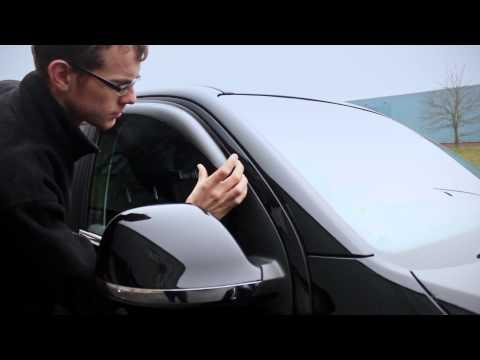 For Volkswagen VW AMAROK 10-18 Deflector Window Visors Guard Vent Weather Shield