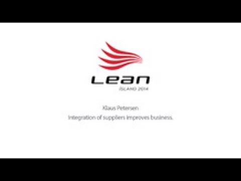 Lean Ísland 2014 - Klaus Petersen / Integration of Suppliers Improves Business HD