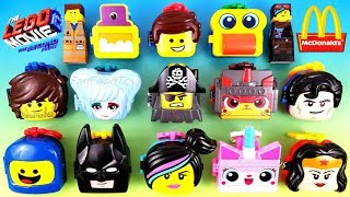 2019 FULL WORLD SET McDONALD S LEGO MOVIE 2 THE SECOND PART HAPPY MEAL TOYS EUROPE ASIA US UNBOXING