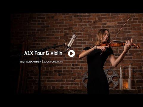 A1 FOUR & Violin with Gigi Alexander