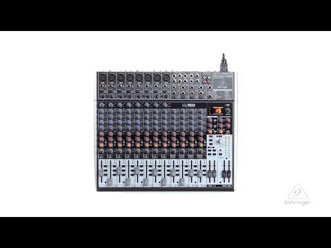XENYX X2222USB Premium 22-Input 2/2-Bus Mixer with XENYX Mic Preamps