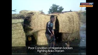 Poor Conditions At A Borno Camp Of Nigerian Soldiers Fighting Boko Haram