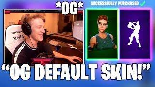 TFUE Gets The *OG* RARE 'Pathfinder' Skin & NEW 'Phone It IN' Emote/DANCE! (Fortnite FUNNY Moments)