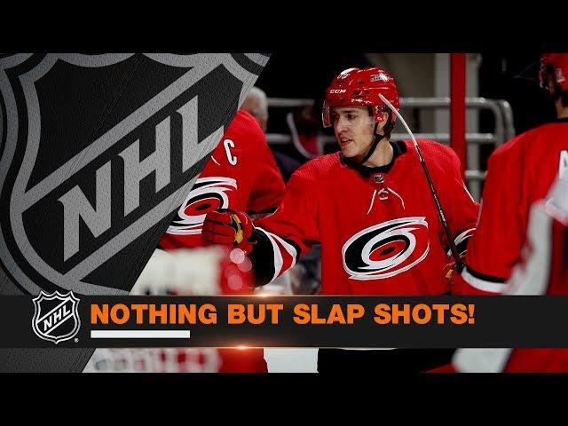 The Best Slap Shot Goals from Week 12