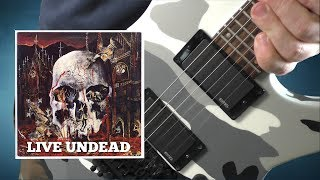 Slayer - Live Undead - Guitar Cover With Solo