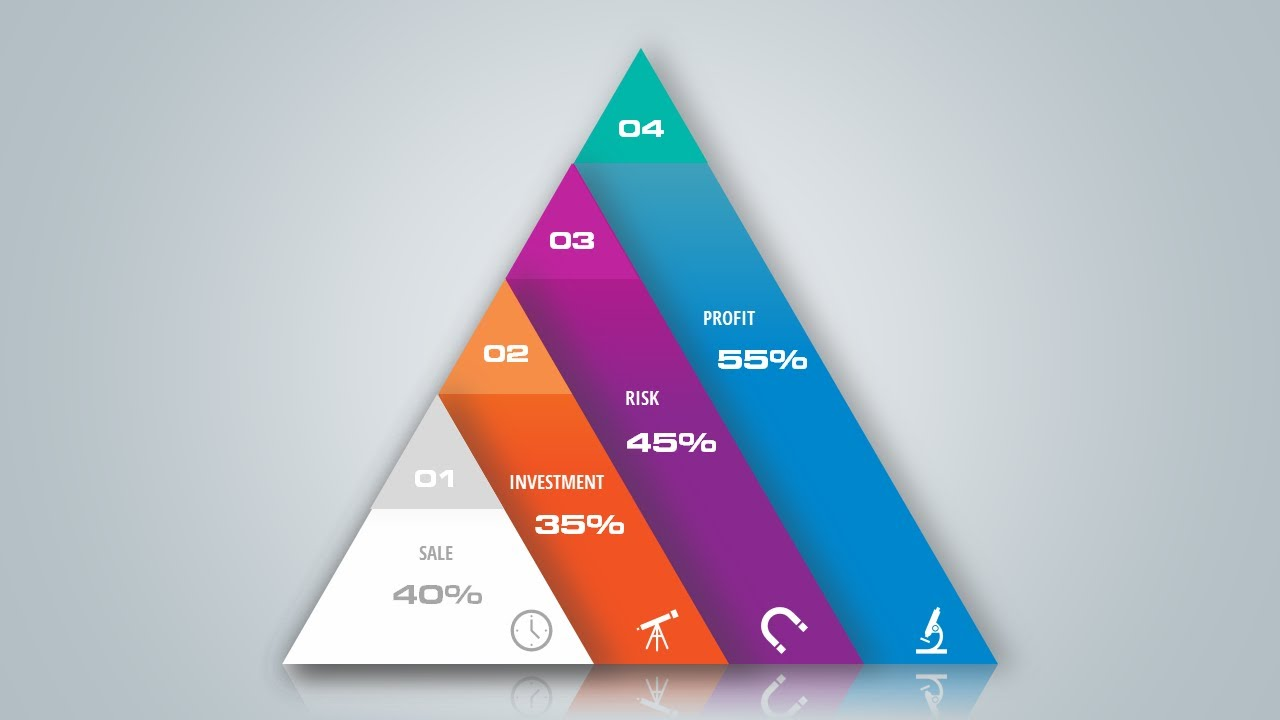 use triangles to create beautiful corporate slide in microsoft office powerpoint ppt