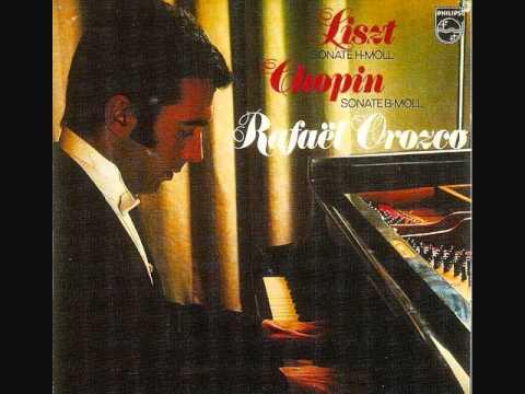 Liszt -- Sonata in B Minor -- Rafael Orozco - 1972