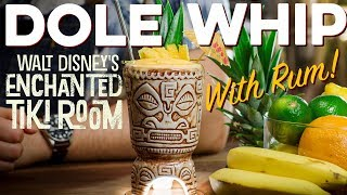 Need your Disney Fix? Make the Dole Whip at Home! Also rum! | How to Drink