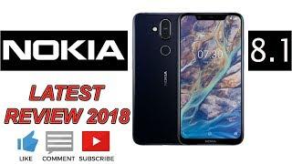 NOKIA 8.1 REVIEW || LATEST 2018 || MID RANGE SMARTPHONE || IDEA 4 U