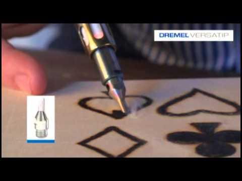 Dremel VersaTip - Σετ εξαρτημάτων πυρογραφίας (204)
