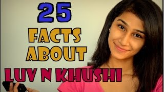25 Facts About Luv And Khushi | 25K SUBSCRIBERS |