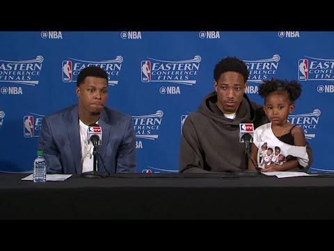 Raptors Post-Game: Kyle Lowry & DeMar DeRozan - May 23, 2016