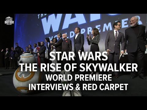 star-wars:-the-rise-of-skywalker-|-world-premiere,-interviews-&-red-carpet-|-extra-butter