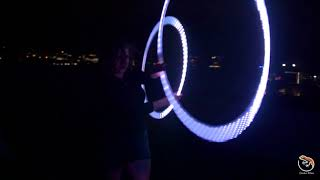 LED Hoop Dancing // Spinning Lotus // Wellington