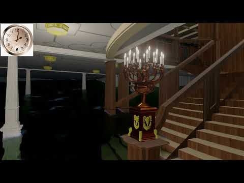 Titanic grand staircase flooding