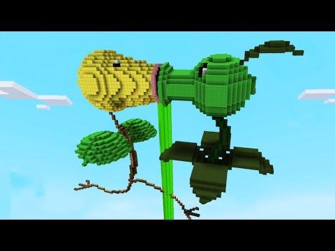 Download Youtube: Minecraft vs Pokemon go   GIGA BELLSPROUT VS PEASHOOTER   (PvZ/Pokego Land)