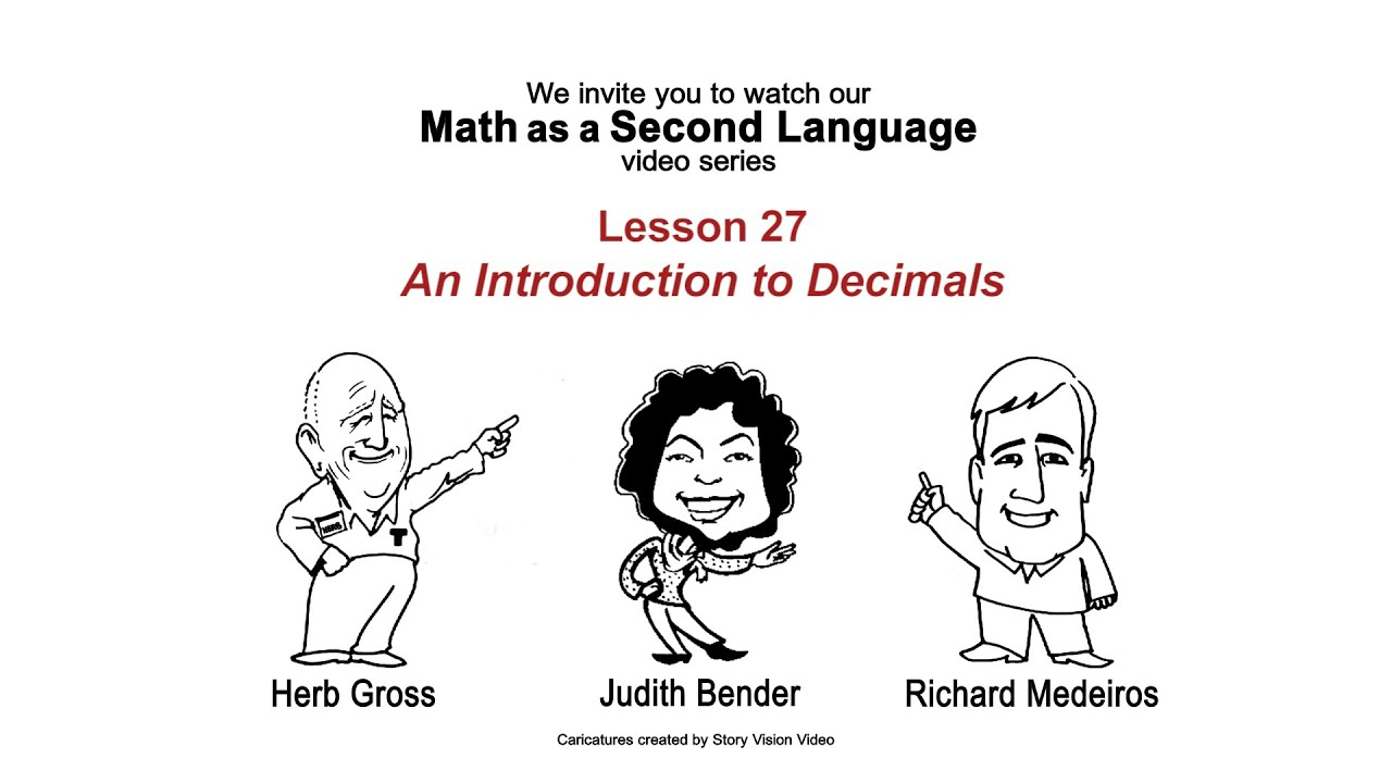 An Introduction To Decimals