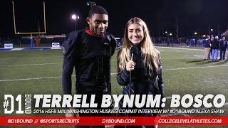 Terrell Bynum (St. John Bosco): Braves Win 49-47 vs Centennial (Postgame Interview w/ Alexa Shaw)
