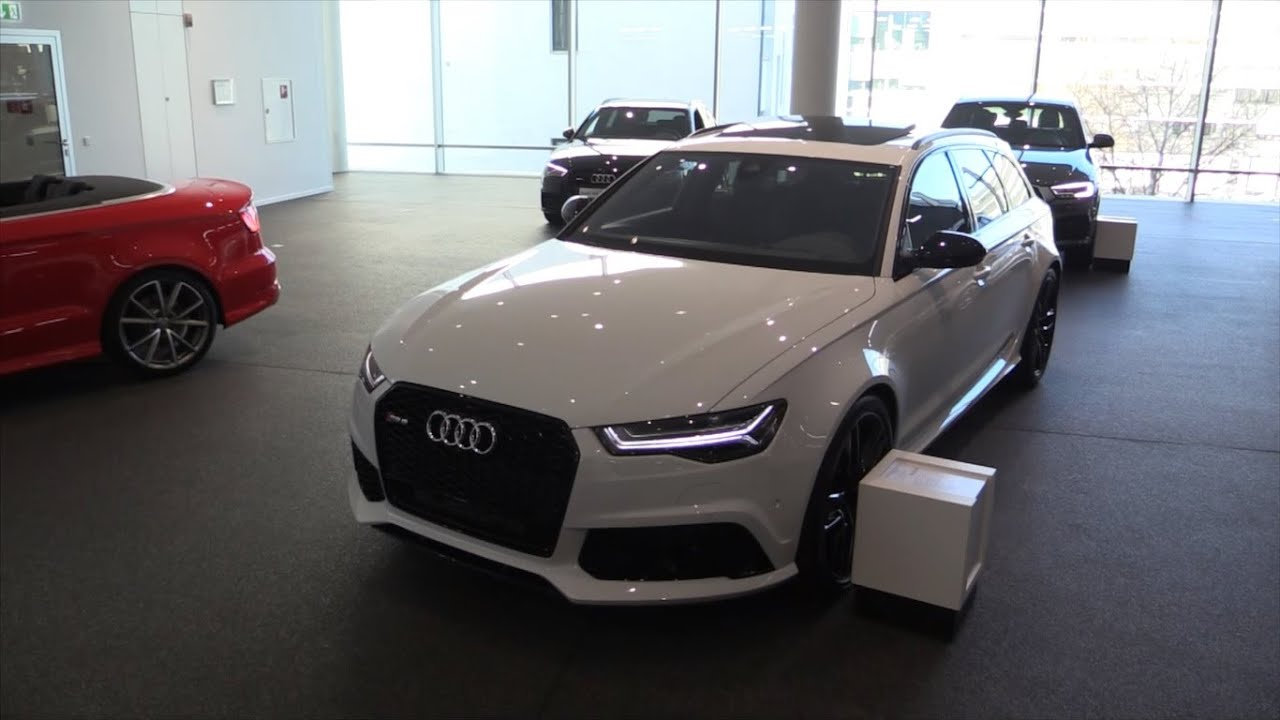 audi rs6 2016 in depth review interior exterior youtube. Black Bedroom Furniture Sets. Home Design Ideas