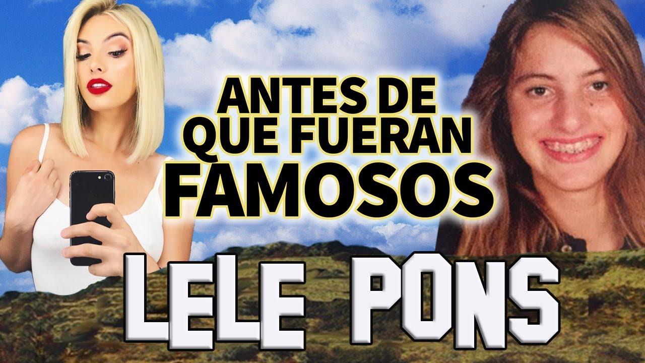 Lele Pons Antes De Que Fueran Famosos Biografia Youtube