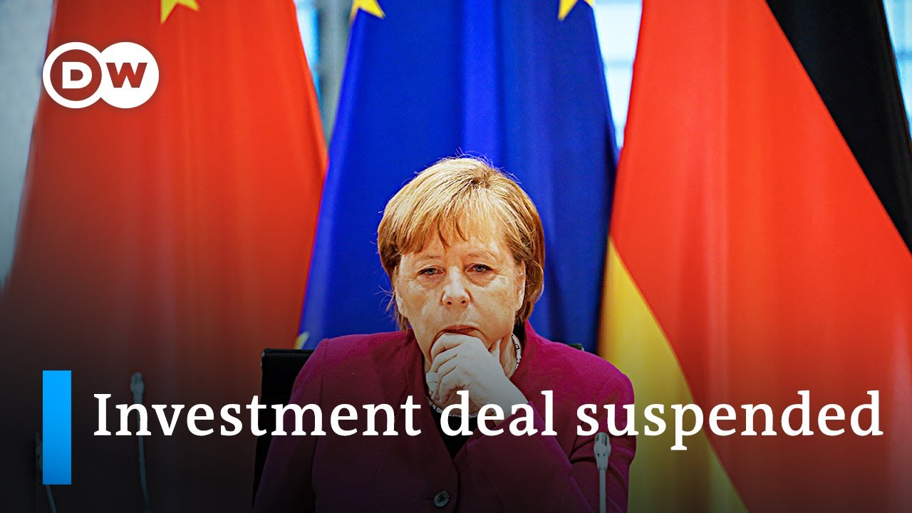 Download EU suspends investment deal with China over 'retaliatory sanctions'   DW News