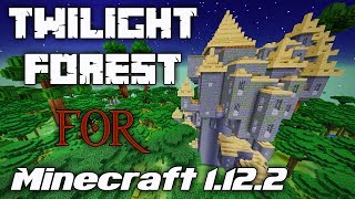A (BELATED) HALLOWEEN IN THE TWILIGHT FOREST! | Part 1 | Minecraft 1.12.2 mod showcase | Let's try