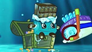 SHOPKINS   BLUE OCEAN   Compilation   Cartoons for Children   Kids TV Shows Full Episodes