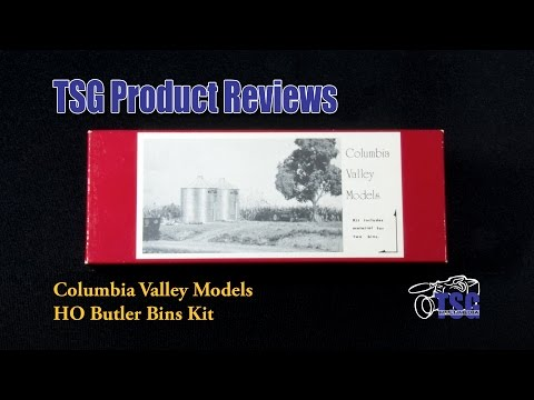 HO Scale Scenery Butler Bins Kit Columbia Valley Models Product Review