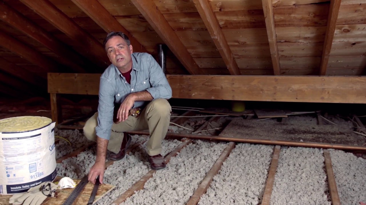 Diy Insulate Your Attic Save Money