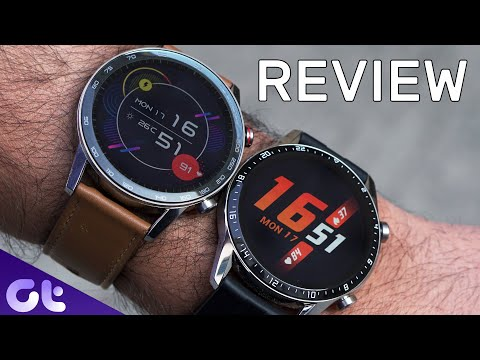 Honor MagicWatch 2 Review | Comparison With Huawei Watch GT 2 | Guiding Tech