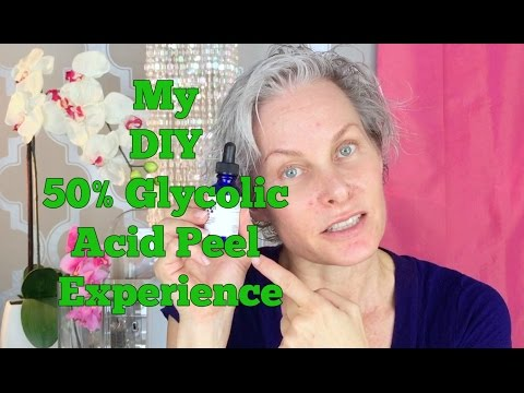 My DIY 50% Glycolic Acid Peel Experience