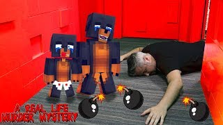 Minecraft - TINY TURTLE IS DEAD - A REAL LIFE MURDER MYSTERY