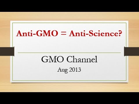 Does Anti-GMO = Anti-Science?