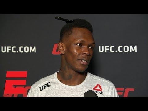 Israel Adesanya calls Derek Brunson 'light work' after 1st round TKO | UFC 230