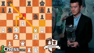 DING LIREN CAMPEÓN DEL GRAND CHESS TOUR 2019