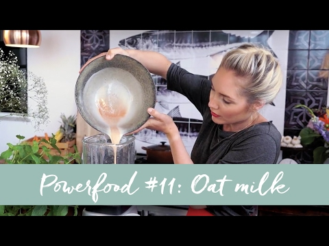 Powerfood Kitchen #11 Oat milk | Rens Kroes