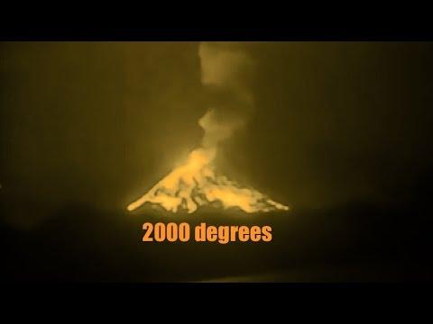 Indian Ocean Volcano Erupts | HOT Lava Soars!