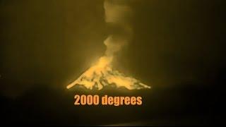 De Indische Oceaan ligt de Vulkaan montecarlo barst | de HETE Lava Omhoog!