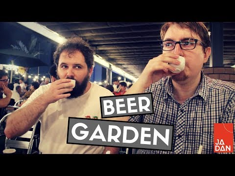 Japanese Beer Gardens are COOL | JaDan - Dan in Japan