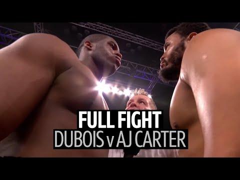 Full Fight: Daniel Dubois V AJ Carter   Brutal Knockout And Aftermath