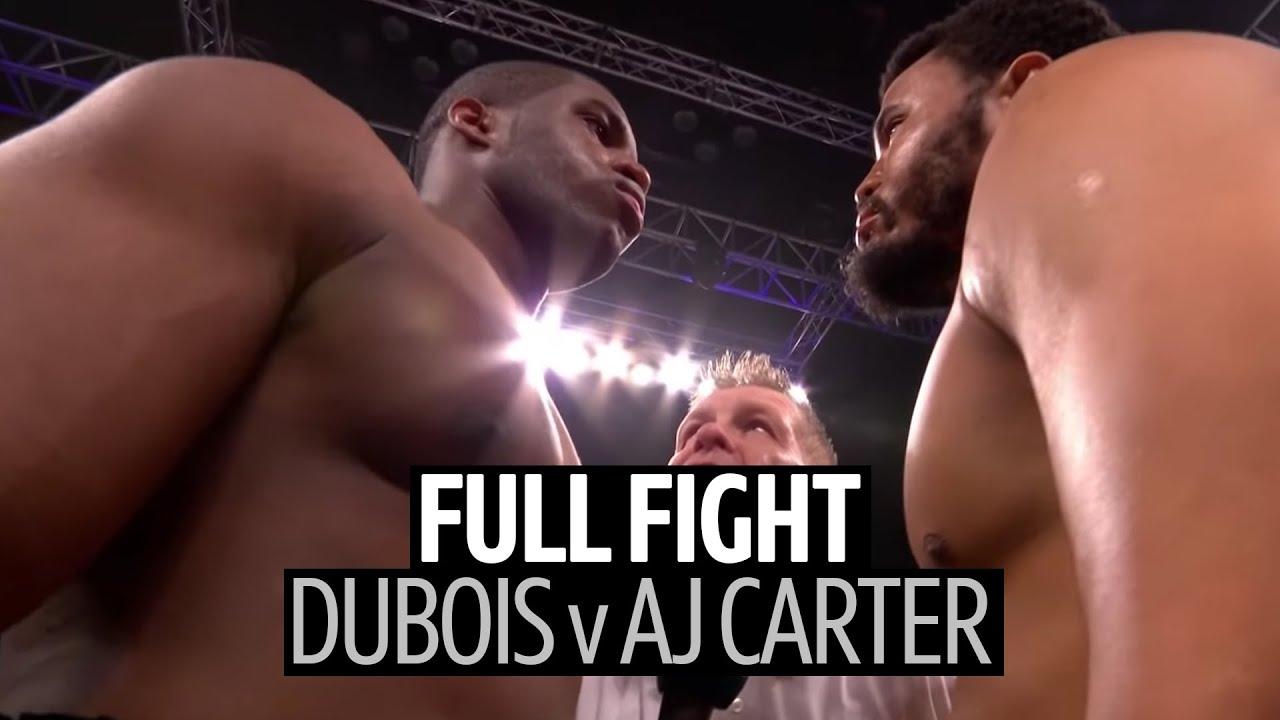 Full fight: Daniel Dubois v AJ Carter | Brutal knockout and aftermath