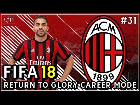 FIFA 18 AC Milan Career Mode: Tensi Tinggi Pertandingan Tandang Serie A Lawan Juventus #31