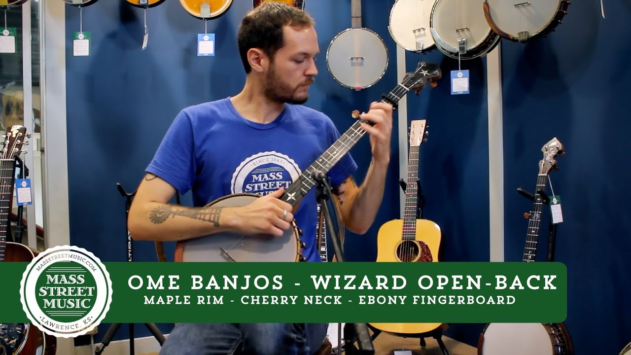 Ome Banjos - Wizard Open-Back