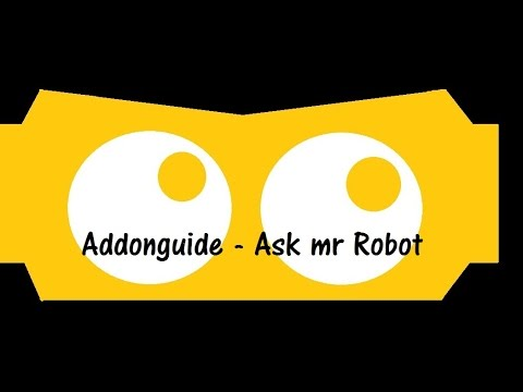 Ask mr Robot - Addon Guide (German) - YouTube