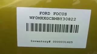 Разборка Ford Focus 3 2.0 MGDA (VIN: WF0MXXGCBMBY30822) J5063