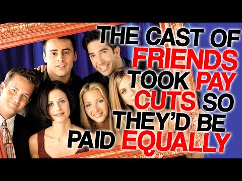 The Cast of Friends Took Pay Cuts so They'd be Paid Equally (Why I hate Ross)