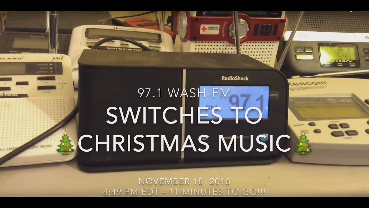 When Is 97.1 Playing Christmas Music 2020 97.1 WASH FM switches to Christmas music   November 18, 2016   YouTube