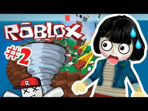 ВЫЖИВАНИЕ В РОБЛОКС - ROBLOX Natural Disaster Survival   Машка играет в Выживание при Катаклизмах