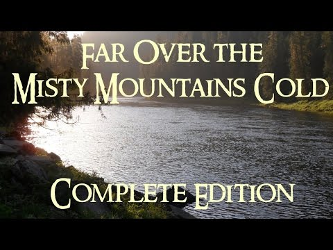 The Hobbit - Far Over the Misty Mountains Cold (Complete Edition Cover)
